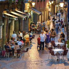 Vecer v Bilbau