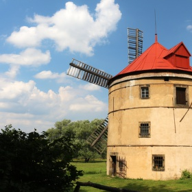 větrný mlýn Světlík