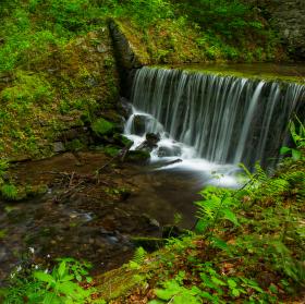 Vodopád - Poniklý potok