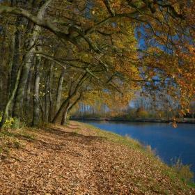 Podzimní cesta Polabím.