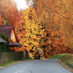 Podzim na Horní Bečvě