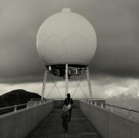 Obrovský fotbalový míč?...