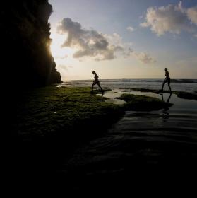 Západ na Bali