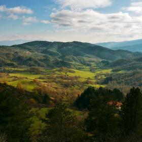 Toskánské údolí