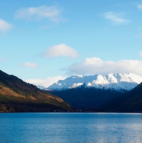 Loch Duich , Skotsko