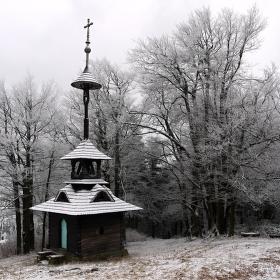Valašská zvonička na Pustevny