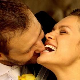 """,,novomanželé """" :-)"""