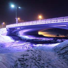 Most v Rožnově
