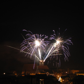 Jindřichohradecký ohňostroj 2012