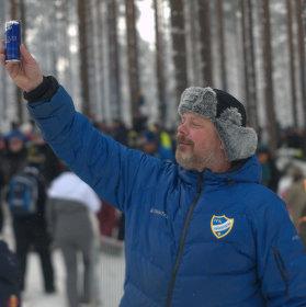 Fanoušek na Rally Sweden 2016