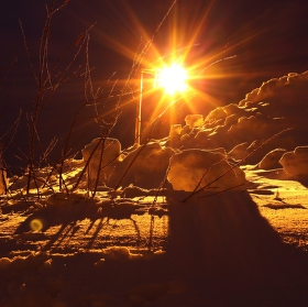 noční slunce