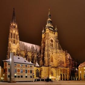 Noční chrám Sv.Víta