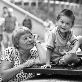 Románek s babičkou