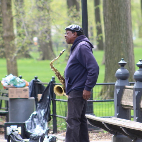 Musician in Centra Park