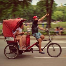 Průvodce na kole