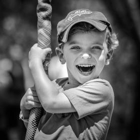 Radost na lanové dráze