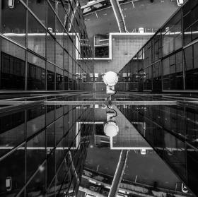Zrcadlení ze střechy NKÚ