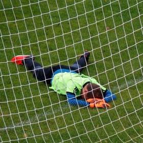Osamělost fotbalového brankáře