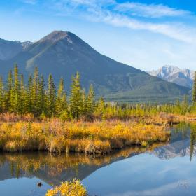 Národní park Jasper na podzim