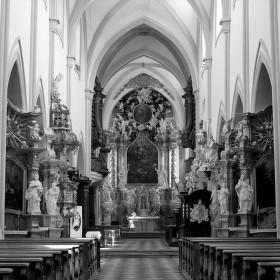 bazilika Nanebevzetí Panny Maria a sv. Mikuláše.