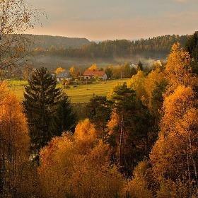 ...ještě včera podzim....