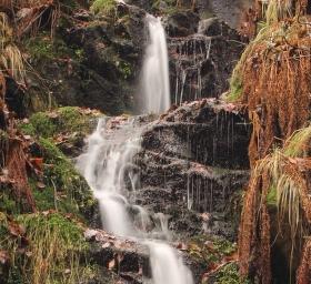 Cesta za Kýšovickým vodopádem