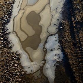Ledový drahokam
