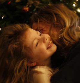 Vánoční objetí