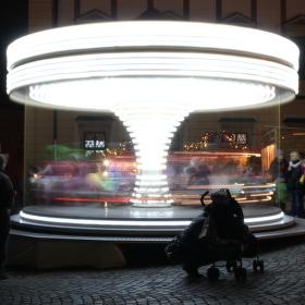Dětský kolotoč na Zelném trhu (Brno)