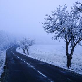 Zimní cesta k lékaři