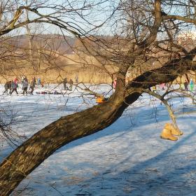Zimní radovánky v lůně přírody