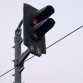 Zmrzlý semafor