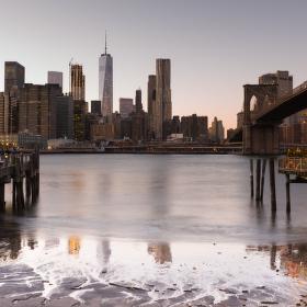 Večerní Manhattan