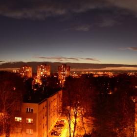 Ostrava po setmění