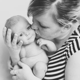 mateřská láska...