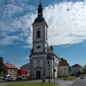 Kostel svatého Petra a Pavla v Říčanech