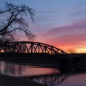Hořící most II