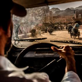 Marocké taxi