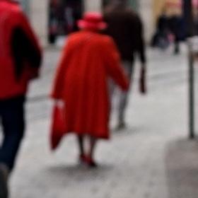 Anglická královna inkognito na nákupech v Brně...pozor v utajení!!!