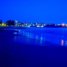 modrý oceán
