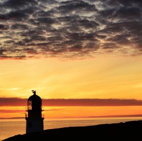 Rua Reidh Lighthouse - Waiting for Sundown