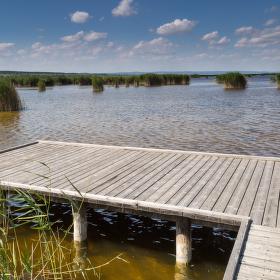 Výhled na jezero, vzpomínka na léto