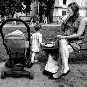 Svačinka pro maminku.