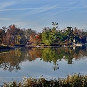 Lednické rybníky v zámeckém parku