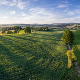 Krajina z nadhledu