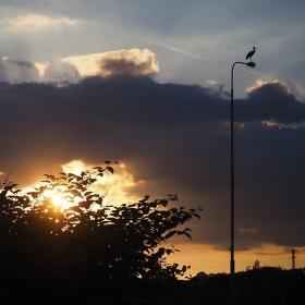 Soumrak nad Ostravou