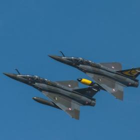 Mirage 2000D - odlety