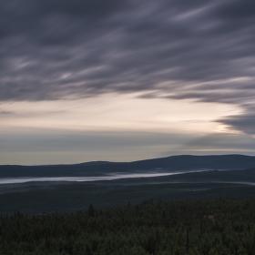 svítání nad Jizerou