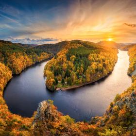 Krása okolí Vltavy