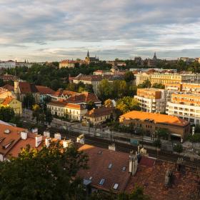 Konec léta v Praze